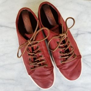 Frye Chambers Low Top Leather Sneakers 12